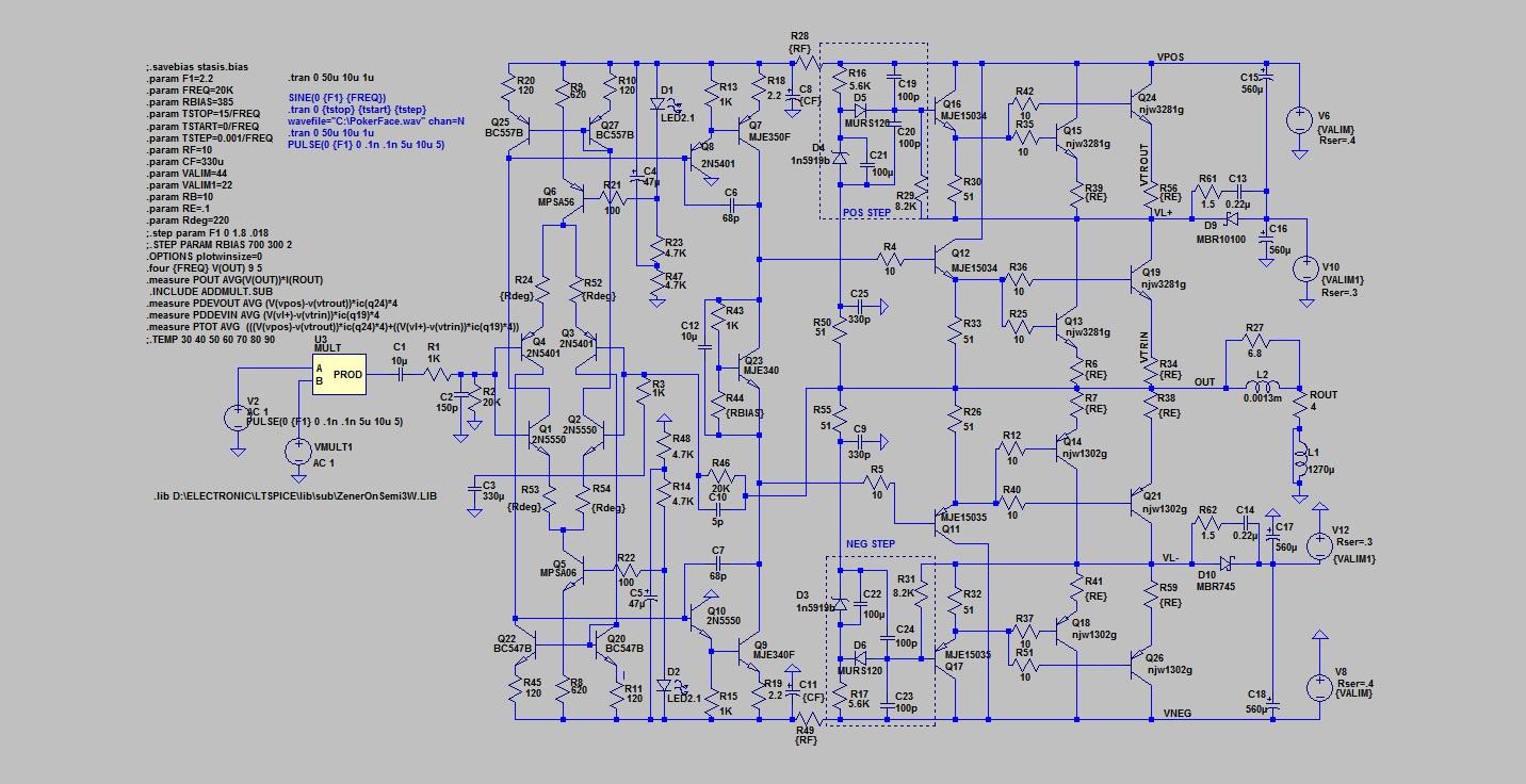 Schema elettrico tdd